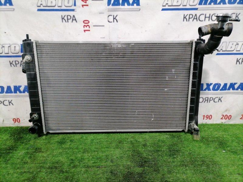 Радиатор двигателя Nissan Teana J32 VQ25DE 2008 21460JN90A С трубками, CVT, горловиной