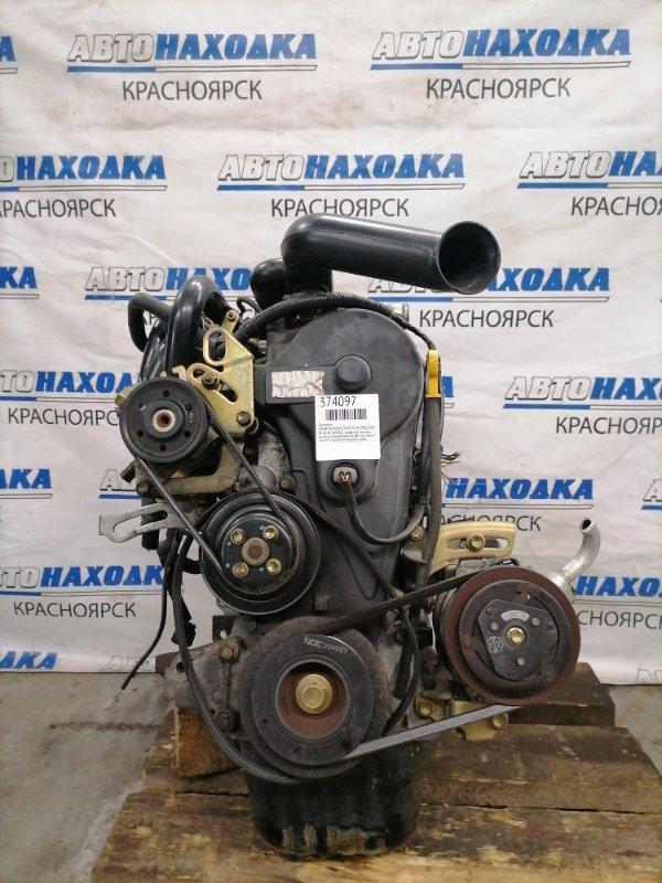 Двигатель Daihatsu Move L910S EF-VE 2000 7493065 EF-VE № 7493065, пробег 52 т.км. Без выпуска и генератора.