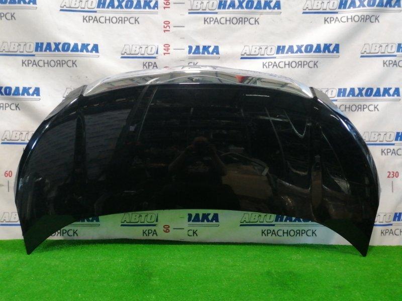 Капот Toyota Noah ZRR70G 3ZR-FE 2007 передний 1 модель дорестайлинг, цвет: 202, есть мелкие