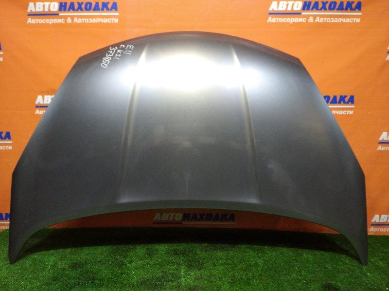Капот Nissan Note E11 HR15DE 2008 цвет K21 есть сколы/ 2мод
