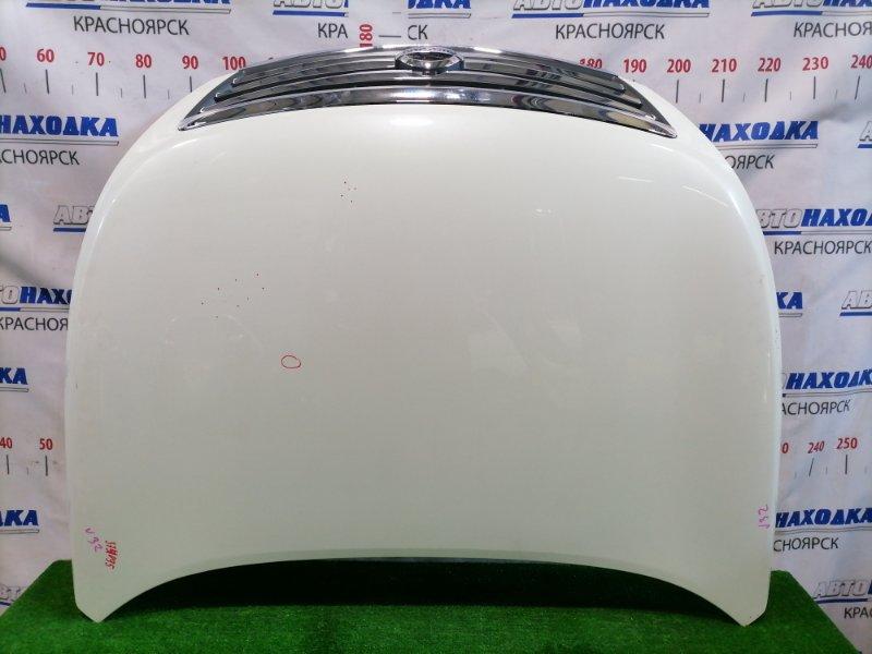 Капот Nissan Teana J32 VQ25DE 2008 передний С решеткой, цвет: QX1, есть мелкие сколы до металла,