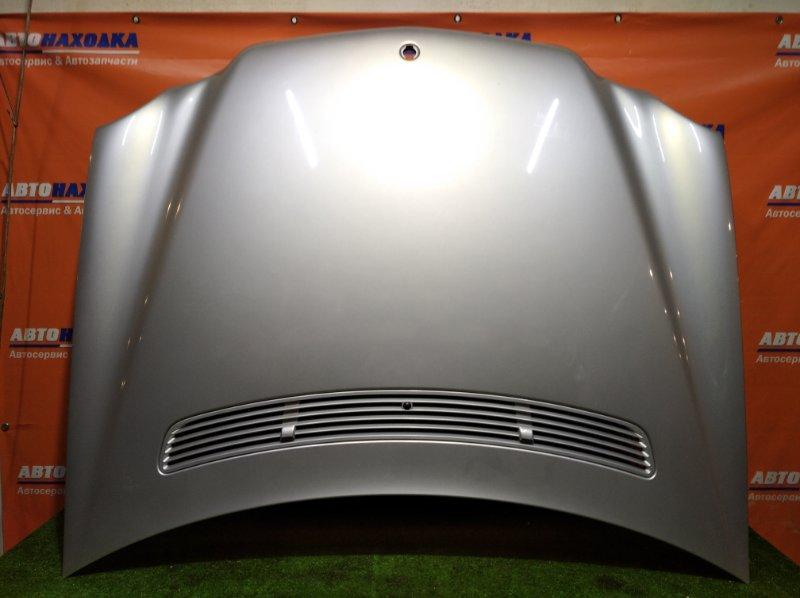 Капот Mercedes-Benz C240 W203 112.912 03.2001 ОТС цвет 744U есть решетка с форсунками+петли