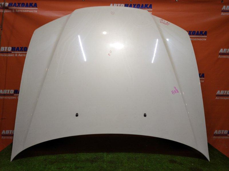 Капот Honda Accord CF3 F18B 2000 цвет NH624P есть потертость до металла