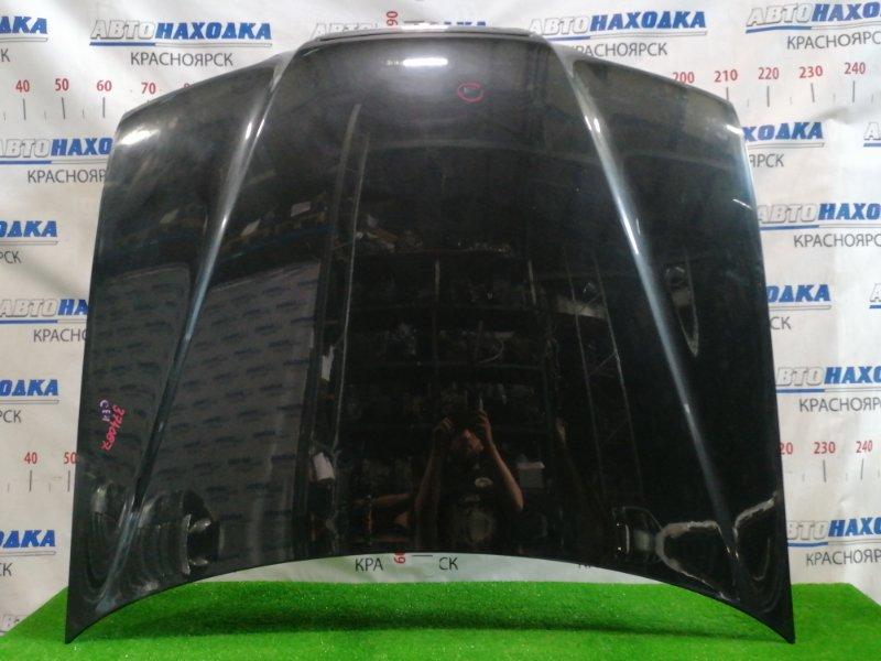 Капот Honda Rafaga CE4 G20A 1993 передний С решеткой, цвет: NH561P, есть вмятинка.