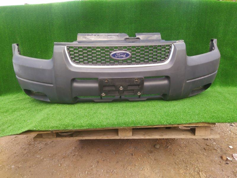 Бампер Ford Escape EP3W передний С РЕШЕТКОЙ ТУМ.VALEO 026703