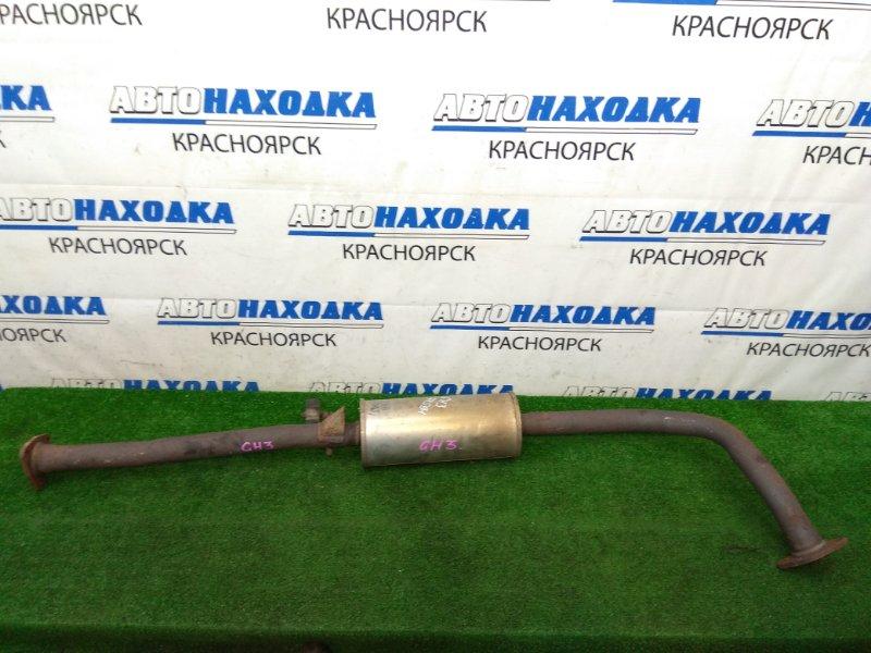 Глушитель Honda Hr-V GH3 D16A 2001 задний средняя часть глушителя с резонатором