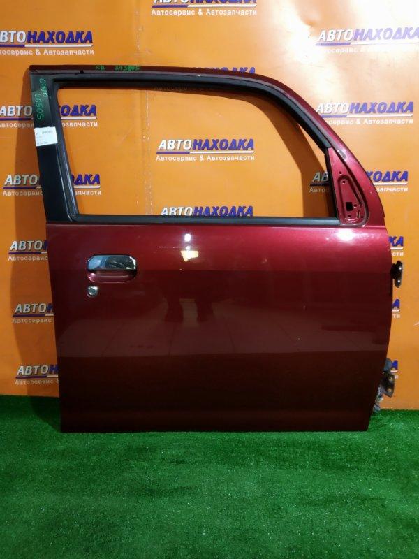 Дверь Daihatsu Mira Gino L650S 2006 передняя правая В СБОРЕ