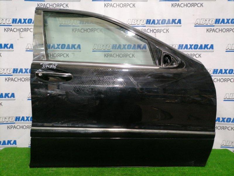 Дверь Mercedes-Benz S320 220.065 112.944 1998 передняя правая передняя правая,в сборе, обшивка с