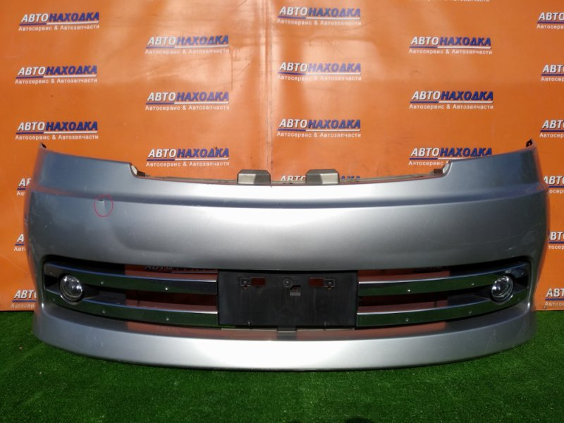 Бампер Nissan Serena C25 передний ТУМ ДЕФЕКТ КРЕПЛЕНИЯ ТУМАНКИ RIDER