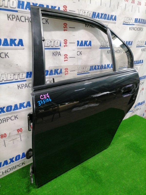 Дверь Honda Rafaga CE4 G20A 1993 задняя левая Задняя левая, цвет: NH561, в сборе, есть потертости -