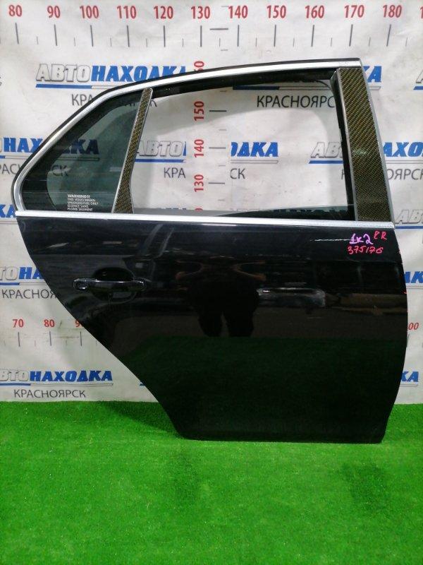 Дверь Volkswagen Jetta 1K2 BVY 2005 задняя правая Задняя правая, цвет: 2T, в сборе, есть сколы до