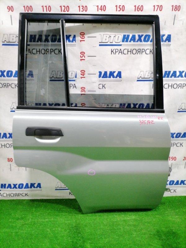 Дверь Mitsubishi Pajero Io H76W 4G93 1998 задняя правая Задняя правая, цвет: A71C, в сборе, есть одна