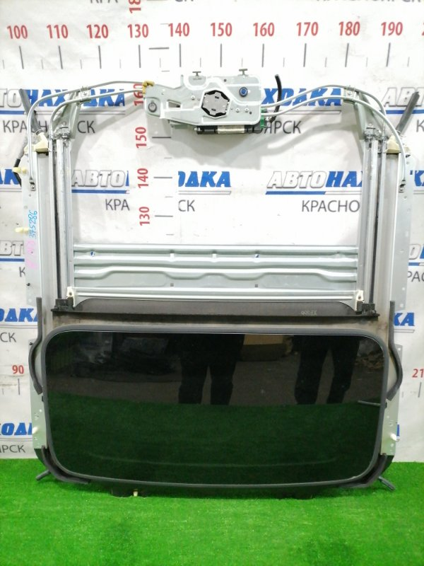 Люк Honda Stream RN8 R20A 2006 Электрический сдвижной в сборе: размер стекла 885мм*457мм, со