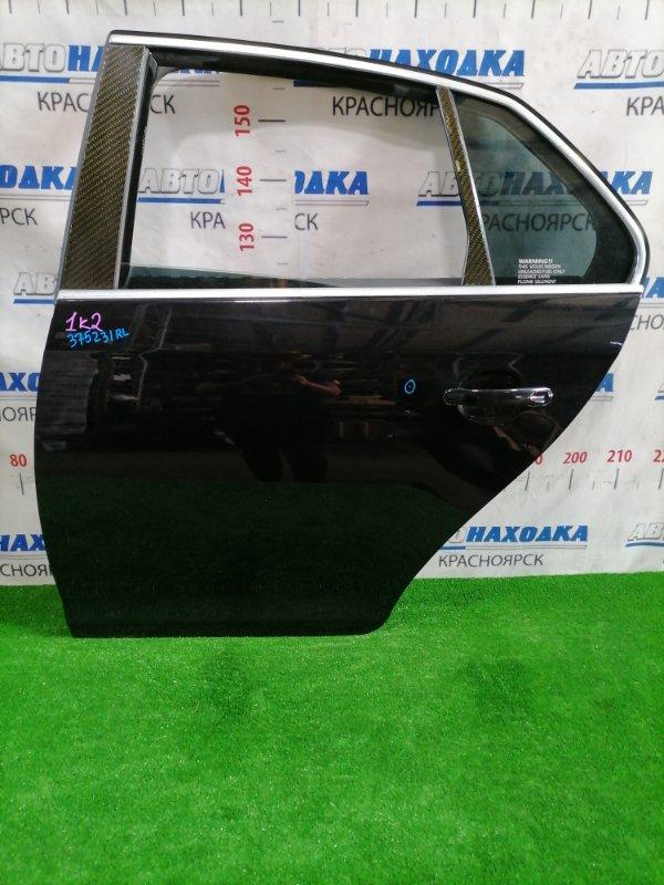 Дверь Volkswagen Jetta 1K2 BVY 2005 задняя левая Задняя левая, цвет: 2T, в сборе, есть царапинки под