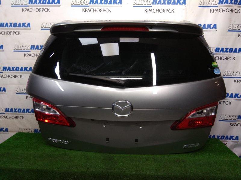 Дверь задняя Mazda Premacy CWEFW LF-VDS 2010 задняя В целом ХТС, в сборе, серая, камера з/х, спойлер,