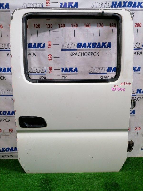 Дверь Toyota Dyna BU306 4B 1999 задняя правая 67003-37030 Задняя правая, в сборе, цвет: 058, есть