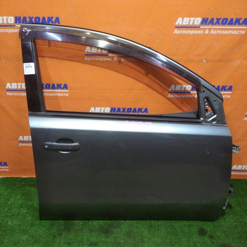 Дверь Nissan Note E11 HR15DE 2005 передняя правая в сборе+ветровик/есть потертости без зеркала и