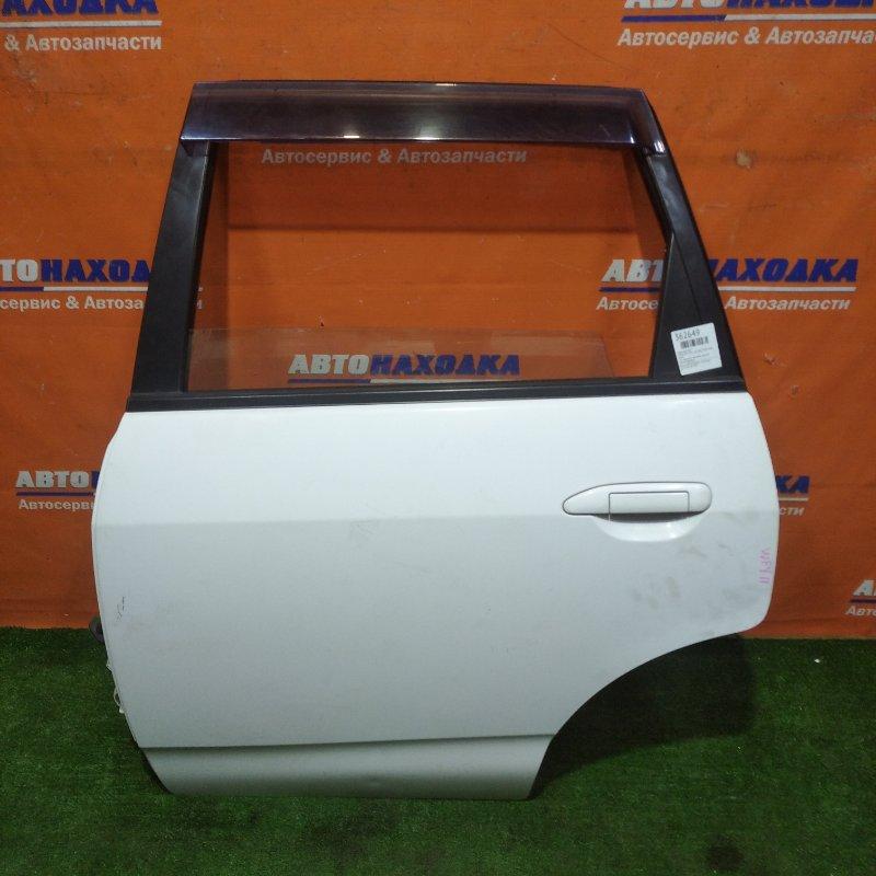 Дверь Nissan Ad VFY11 QG15DE 1999 задняя левая есть царапина в сборе+ ветровик, электро
