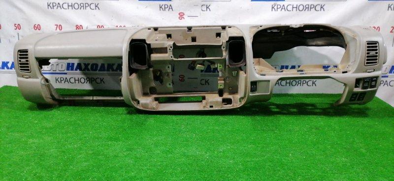 Панель приборов Toyota Dyna BU306 4B 1999 55301-37010-B0 Торпедо с дефлекторами, кнопками, есть