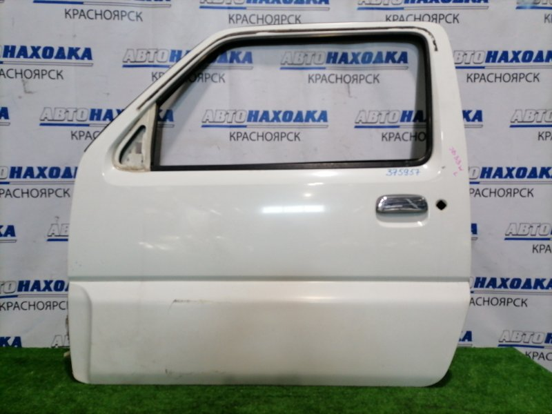 Дверь Suzuki Jimny Wide JB33W G13B 1998 передняя левая левая, без стекла, стеклоподъемника, WIDE (с
