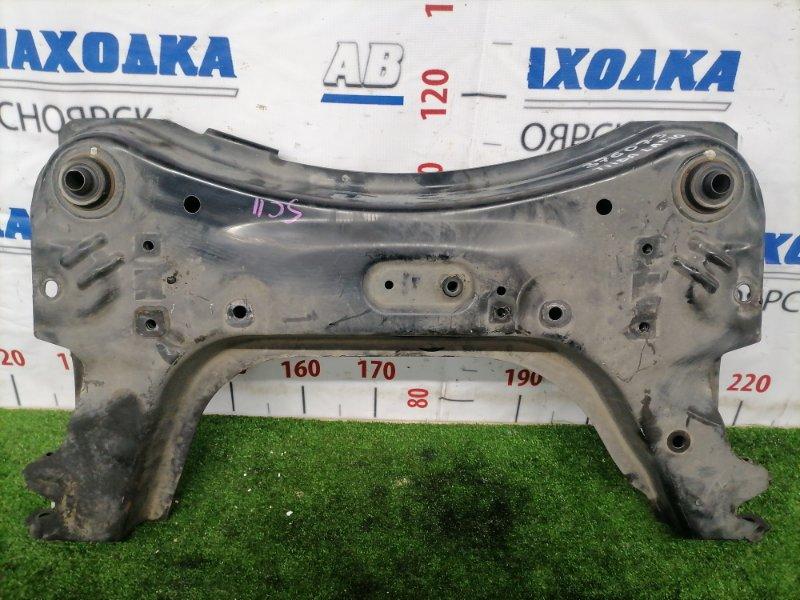 Балка поперечная Nissan Tiida Latio SC11 HR15DE 2008 передняя нижняя Передняя, поперечная, снята с