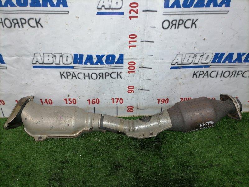 Катализатор Nissan Tiida Latio SC11 HR15DE 2008 Двойной, рестайлинг.