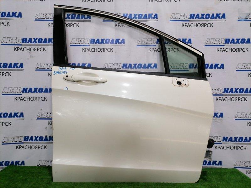 Дверь Honda Freed GB3 L15A 2008 передняя правая Передняя правая, в сборе, цвет NH624P. Есть