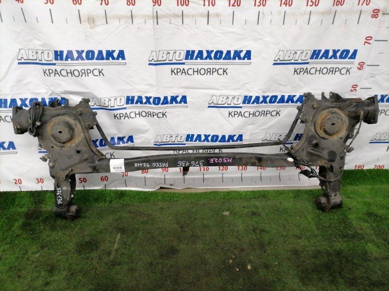 Балка поперечная Toyota Passo Sette M502E 3SZ-VE 2008 задняя нижняя 48710-B1100 Задняя, со стабилизатором,