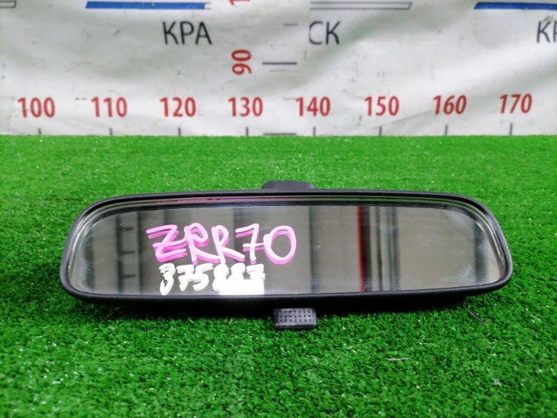 Зеркало салонное Toyota Noah ZRR70G 3ZR-FE 2007 Есть незначительная потертость на пластике с