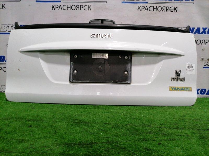 Дверь задняя Smart Fortwo W451 M132E10 2006 задняя Нижний борт, в сборе, есть потертости до