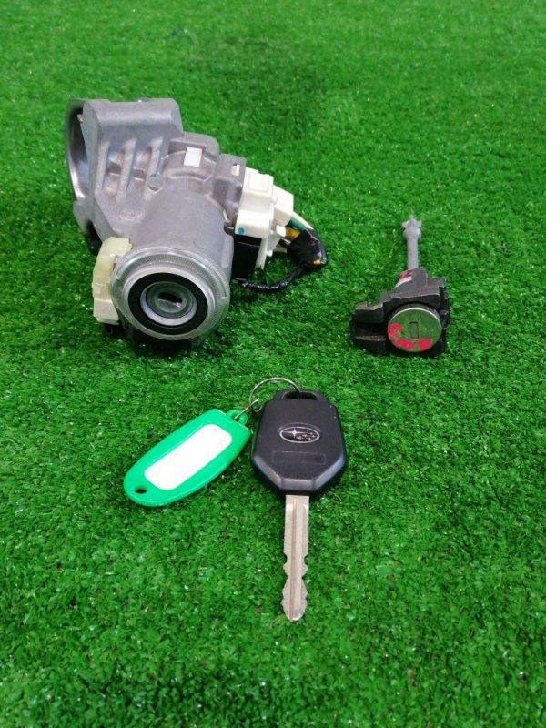 Замок зажигания Subaru Impreza GP2 FB16 2011 С одним ключом, личинкой двери