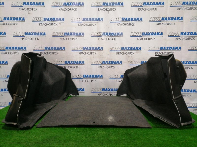 Обшивка багажника Honda Rafaga CE4 G20A 1993 задняя Комплект, боковушки L+R, пол багажника, в ХТС
