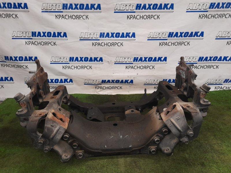 Балка поперечная Toyota Dyna BU306 4B 1999 передняя 51210-37020 Передняя, подрамник, под рычажную