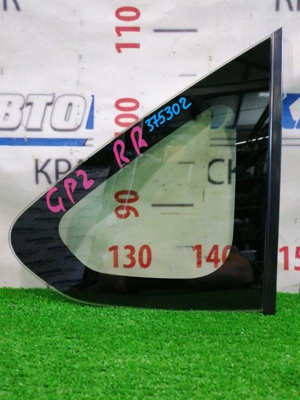 Стекло собачника Subaru Impreza GP2 FB16 2011 заднее правое Заднее правое