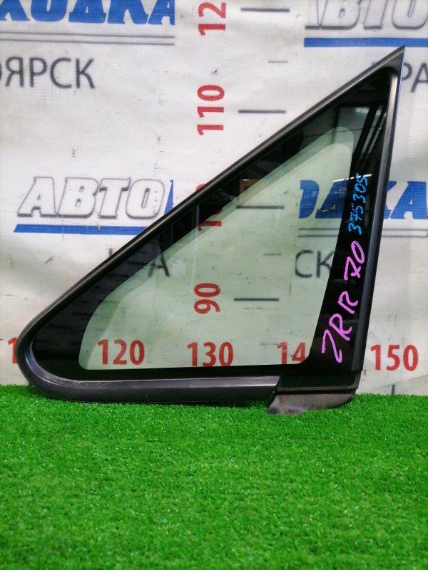 Стекло боковое Toyota Noah ZRR70G 3ZR-FE 2007 переднее левое Переднее левое, в кузов