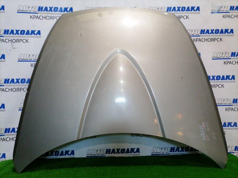 Капот Mazda Rx-8 SE3P 13-BMSP 2003 передний Алюминиевый, цвет 38E. Есть потертости до металла.