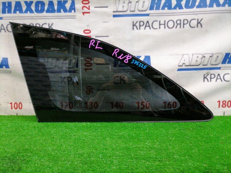 Стекло собачника Honda Stream RN8 R20A 2006 заднее левое Заднее левое, с заводской тонировкой,