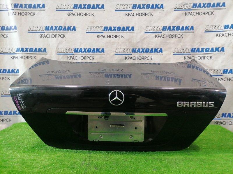 Крышка багажника Mercedes-Benz S320 220.065 112.944 1998 задняя в сборе, под квадратный номер. Есть