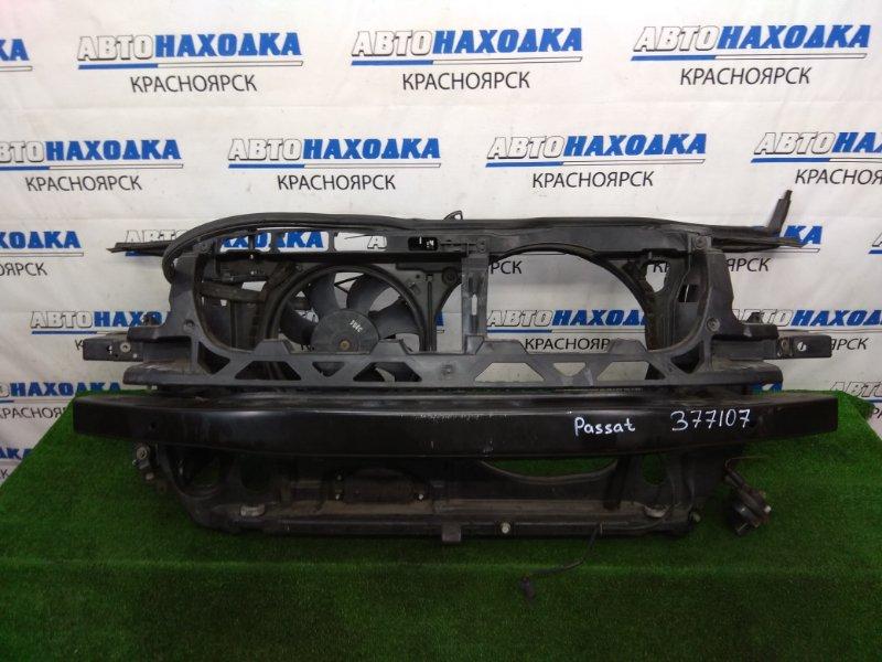 Рамка радиатора Volkswagen Passat B5.5 AMX 2000 передняя пластиковая, с замком и усилителем +