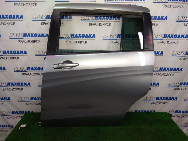 Дверь Mazda Premacy CWEFW LF-VDS 2010 задняя левая задняя левая, в сборе, сдвижная, серая, сколы по
