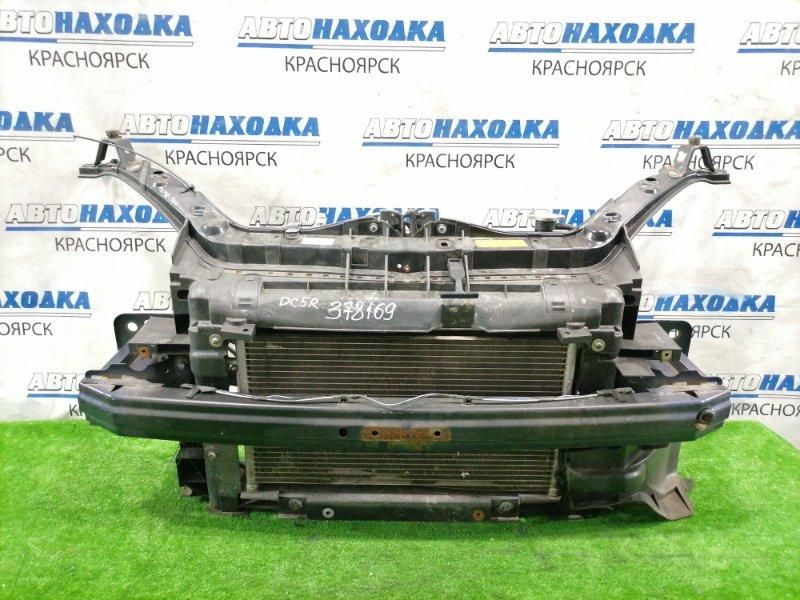 Рамка радиатора Mazda Verisa DC5W ZY-VE 2004 Пластиковая, в сборе с радиаторами, с