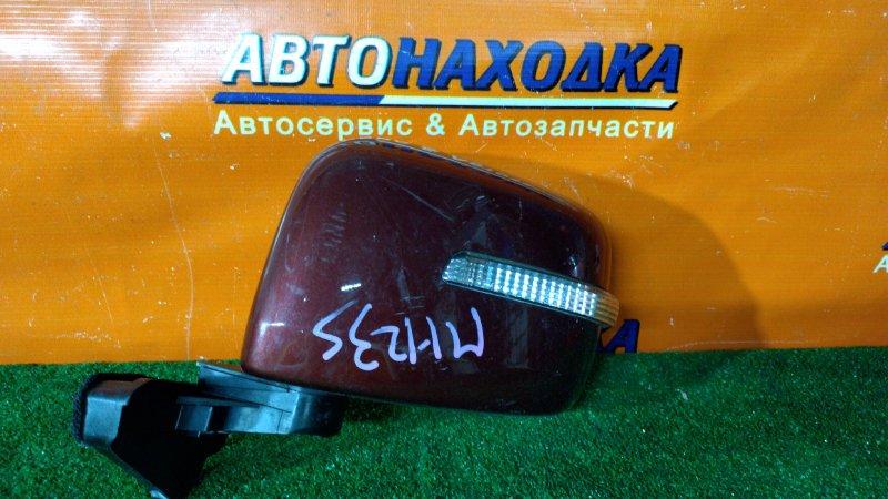 Зеркало Suzuki Wagon R MH23S K6A переднее левое 7 КОНТАКТОВ
