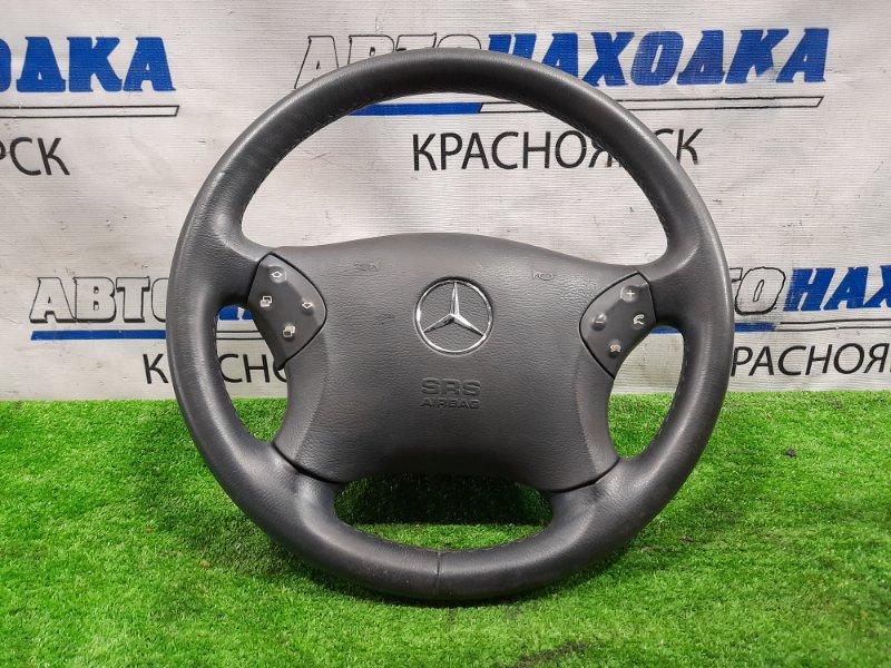 Airbag Mercedes-Benz C240 203.061 112.912 2000 с рулем, кожа в ХТС, с подушкой, без заряда, есть пятно на