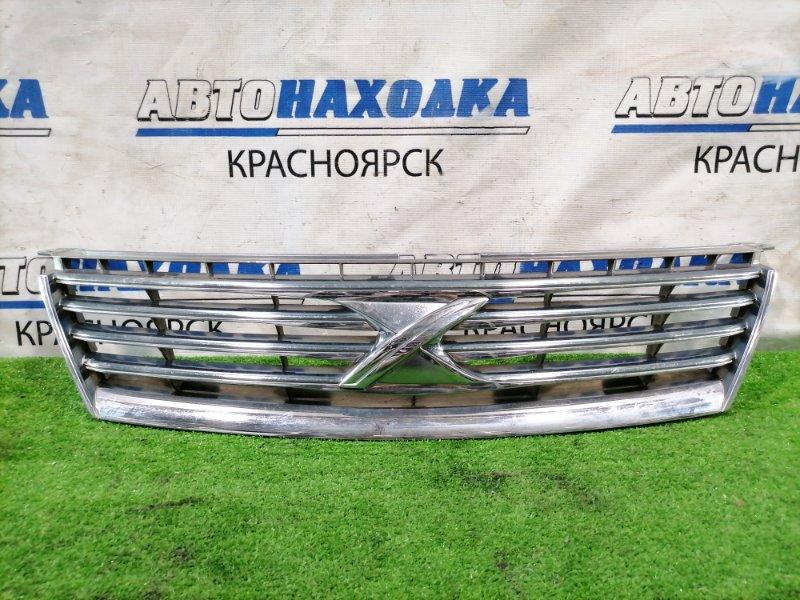 Решетка радиатора Toyota Mark X GRX120 4GR-FSE 2004 Дорестайлинг (1 мод.). Есть дефект хрома.