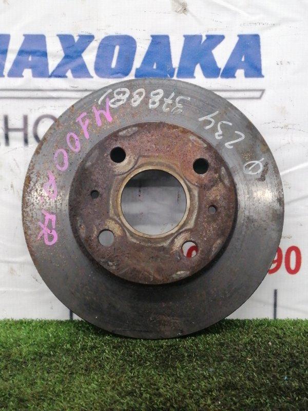 Диск тормозной Toyota Duet M100A EJ-VE 1998 передний Передний, вентилируемый, диаметр 234 мм