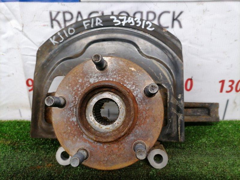 Ступица Nissan Dualis KJ10 MR20DE 2007 передняя правая 40202JG000 Передняя правая, без диска и суппорта,