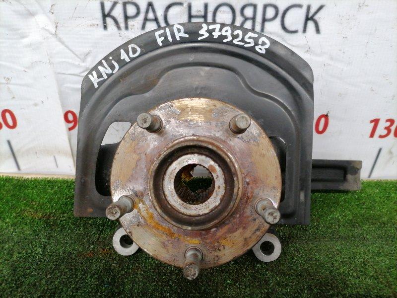 Ступица Nissan Dualis KNJ10 MR20DE 2007 передняя правая 40202JG000 Передняя правая, без диска и суппорта,
