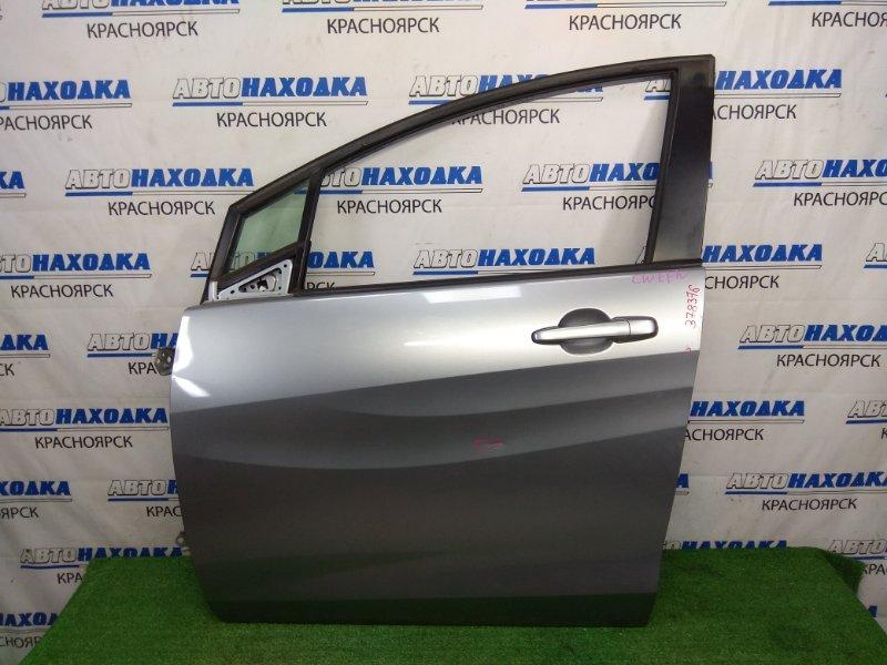 Дверь Mazda Premacy CWEFW LF-VDS 2010 передняя левая передняя левая, серая, 2 вмятинки, царапинка