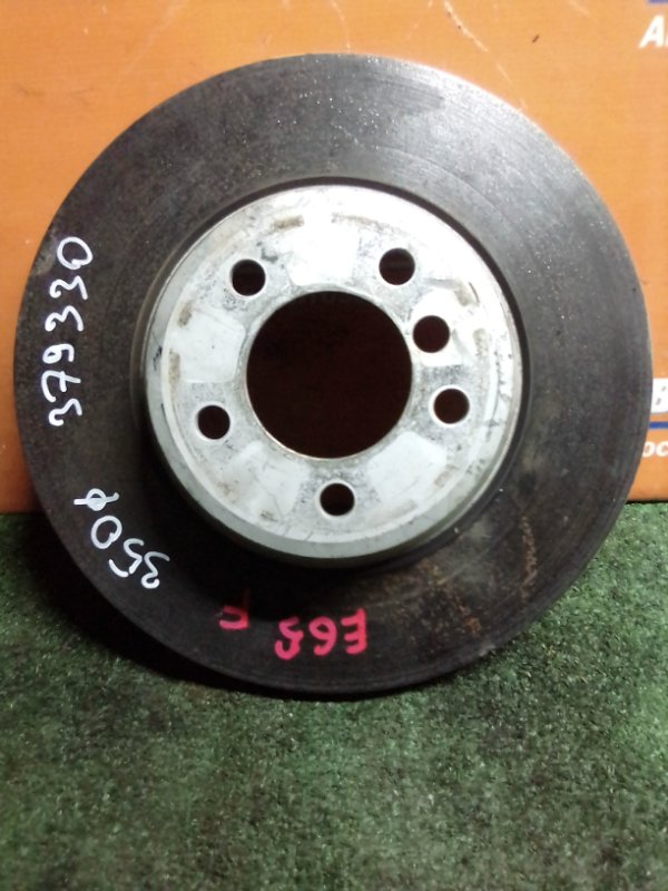 Диск тормозной Bmw 750I E65 N62B48B 03.2008 передний 350мм