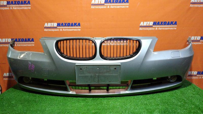 Бампер Bmw 525I E60 M54B25 2003 передний туманки/ под покраску/решетки
